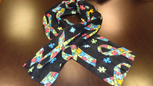 Puzzle Ribbon Scarf